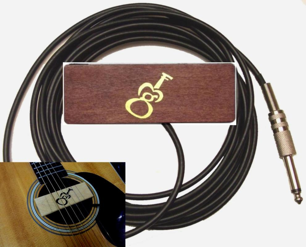Gmf Music Professional Products For The Acoustic Musician Wiring A 1 4 Instrument Jack Sh 1b Brown Color 1bs With Strap Pin